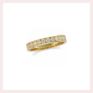 Diamond Eternity Band in 14KT Gold